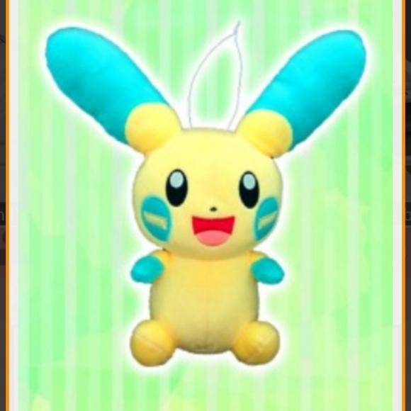 Large Minun Pokemon Plush